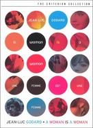 Une femme est une femme - DVD movie cover (xs thumbnail)