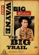 The Big Trail - Australian DVD cover (xs thumbnail)
