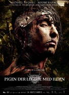 Flickan som lekte med elden - Danish Movie Poster (xs thumbnail)