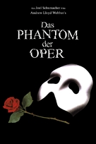 The Phantom Of The Opera - German DVD cover (xs thumbnail)