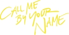 Call Me by Your Name - Logo (xs thumbnail)