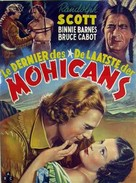 The Last of the Mohicans - Belgian Movie Poster (xs thumbnail)