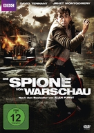 Spies of Warsaw - German DVD cover (xs thumbnail)