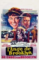 Un angelo è sceso a Brooklyn - Belgian Movie Poster (xs thumbnail)