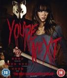You're Next - British Blu-Ray movie cover (xs thumbnail)