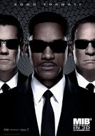 Men in Black 3 - Italian Movie Poster (xs thumbnail)