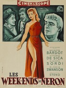 Mio figlio Nerone - French Movie Poster (xs thumbnail)