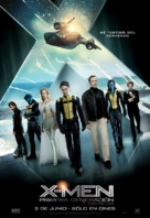X-Men: First Class - Chilean Movie Poster (xs thumbnail)