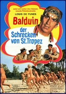 Le gendarme en balade - German Movie Poster (xs thumbnail)