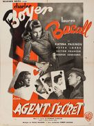 Confidential Agent - French Movie Poster (xs thumbnail)