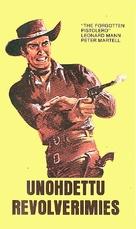 Il pistolero dell'Ave Maria - Finnish VHS movie cover (xs thumbnail)