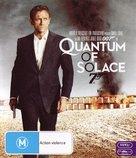 Quantum of Solace - Australian Blu-Ray movie cover (xs thumbnail)