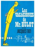 Les vacances de Monsieur Hulot - Spanish Movie Poster (xs thumbnail)