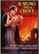 The Sign of the Cross - Italian Movie Poster (xs thumbnail)
