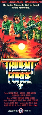 The Trident Force - German Video release poster (xs thumbnail)