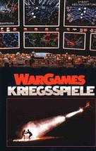 WarGames - German VHS cover (xs thumbnail)