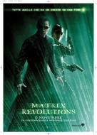 The Matrix Revolutions - Italian Movie Poster (xs thumbnail)