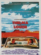 Thelma And Louise - French Movie Poster (xs thumbnail)
