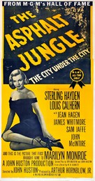 The Asphalt Jungle - Re-release poster (xs thumbnail)