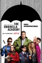 """The Umbrella Academy"" - Romanian Movie Poster (xs thumbnail)"