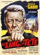 Le sang à la tête - French Movie Poster (xs thumbnail)