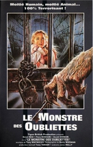 The Beast in the Cellar - French VHS cover (xs thumbnail)