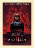 Annabelle Comes Home - Latvian Movie Poster (xs thumbnail)