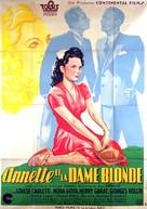 Annette et la dame blonde - French Movie Poster (xs thumbnail)