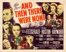 And Then There Were None - Movie Poster (xs thumbnail)