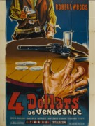 Cuatro dólares de venganza - French Movie Poster (xs thumbnail)