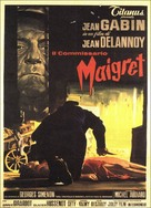 Maigret tend un piège - Italian Movie Poster (xs thumbnail)