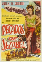 Sins of Jezebel - Argentinian Movie Poster (xs thumbnail)