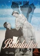 Balalaika - Danish Movie Poster (xs thumbnail)