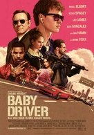 Baby Driver - Finnish Movie Poster (xs thumbnail)
