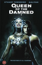 Queen Of The Damned - Danish DVD cover (xs thumbnail)