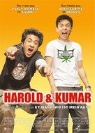 Harold & Kumar Go to White Castle - German Movie Poster (xs thumbnail)