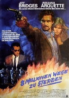 8 Million Ways to Die - German Movie Poster (xs thumbnail)