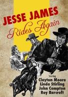 Jesse James Rides Again - DVD cover (xs thumbnail)