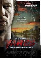 Vares - Pahan suudelma - Finnish Movie Poster (xs thumbnail)