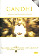 Gandhi - Argentinian DVD cover (xs thumbnail)