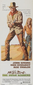 The Train Robbers - Movie Poster (xs thumbnail)