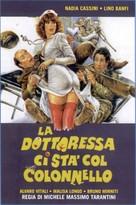 La dottoressa ci sta col colonnello - Italian DVD cover (xs thumbnail)