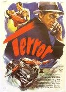 Terror at Midnight - German Movie Poster (xs thumbnail)