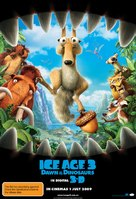 Ice Age: Dawn of the Dinosaurs - Australian Movie Poster (xs thumbnail)