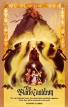 The Black Cauldron - Movie Poster (xs thumbnail)