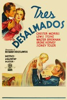 Three Godfathers - Argentinian Movie Poster (xs thumbnail)
