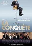 La conquête - Belgian Movie Poster (xs thumbnail)