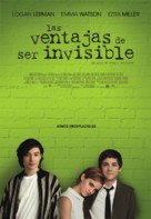 The Perks of Being a Wallflower - Colombian Movie Poster (xs thumbnail)