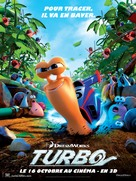 Turbo - French Movie Poster (xs thumbnail)