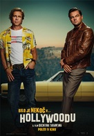 Once Upon a Time in Hollywood - Slovenian Movie Poster (xs thumbnail)